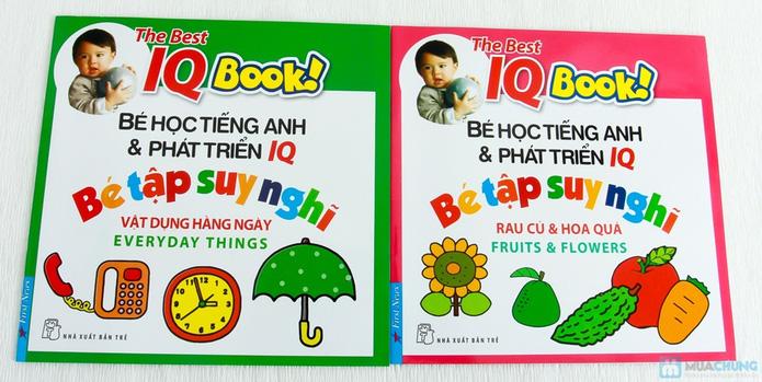 Learning English with songs + 8 cuốn Bé học tiếng Anh & phát triển IQ - 12