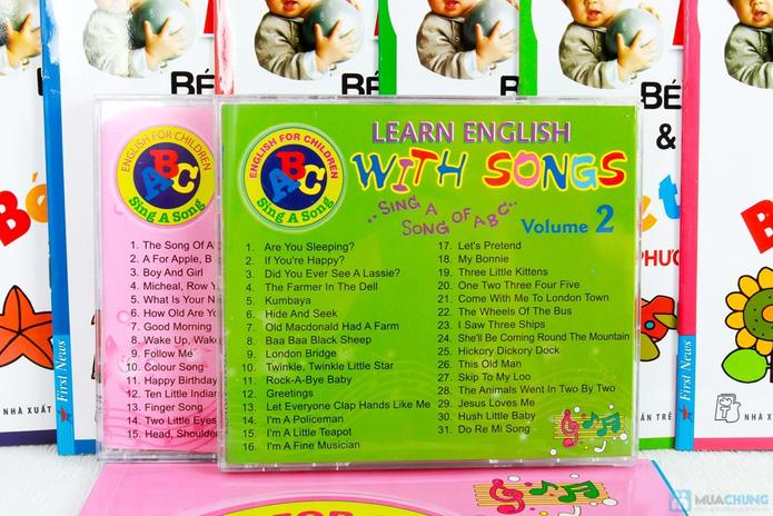 Learning English with songs + 8 cuốn Bé học tiếng Anh & phát triển IQ - 6