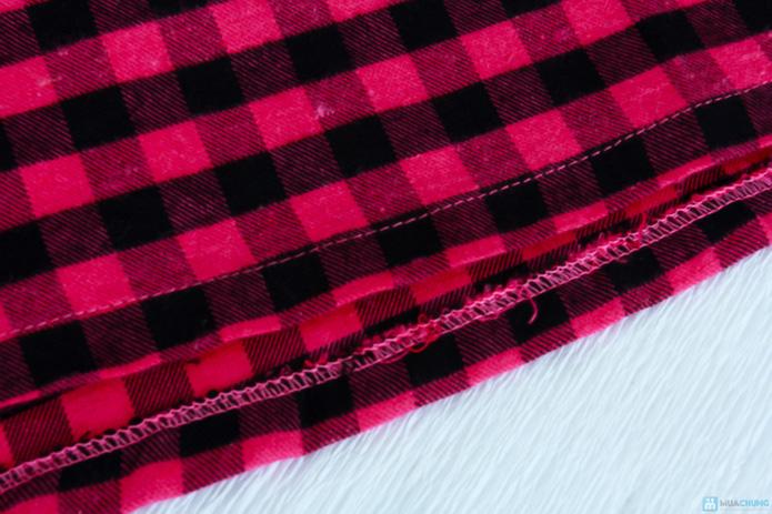 Vải kẻ caro cho bé yêu - 6