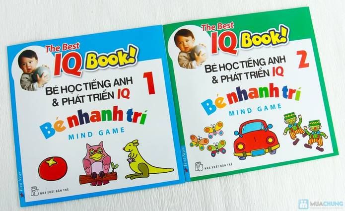 Learning English with songs + 8 cuốn Bé học tiếng Anh & phát triển IQ - 9