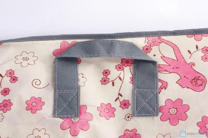 Túi vải đa năng hoa văn - 6