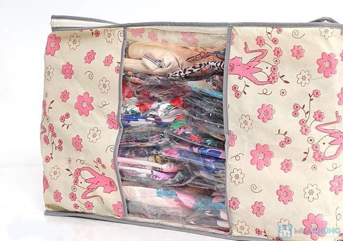 Túi vải đa năng hoa văn - 4