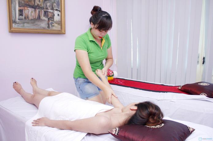 Massage body, bấm huyệt thư giãn 90 phút tại Ruby Spa - 6
