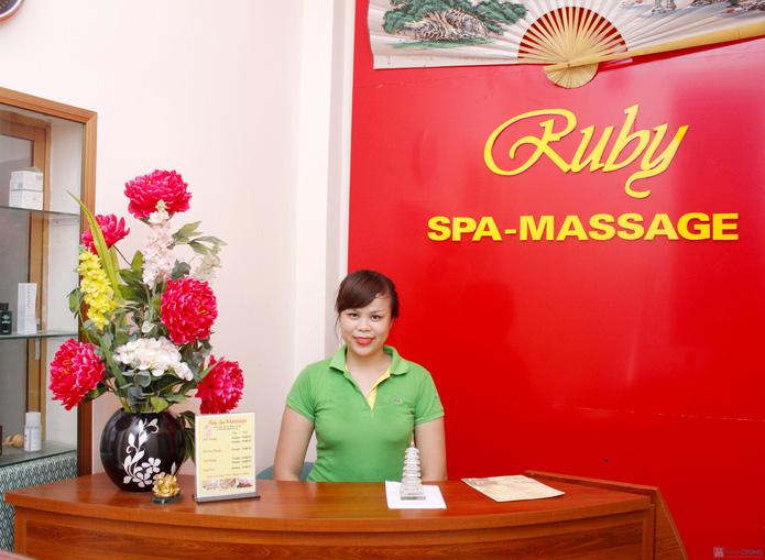 Massage body, bấm huyệt thư giãn 90 phút tại Ruby Spa - 13
