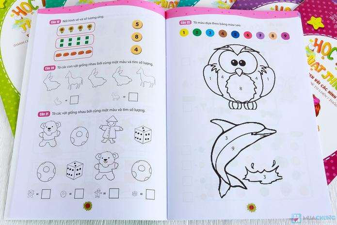 Bộ 8 Học toán thật thích dành cho bé và bố mẹ - 3