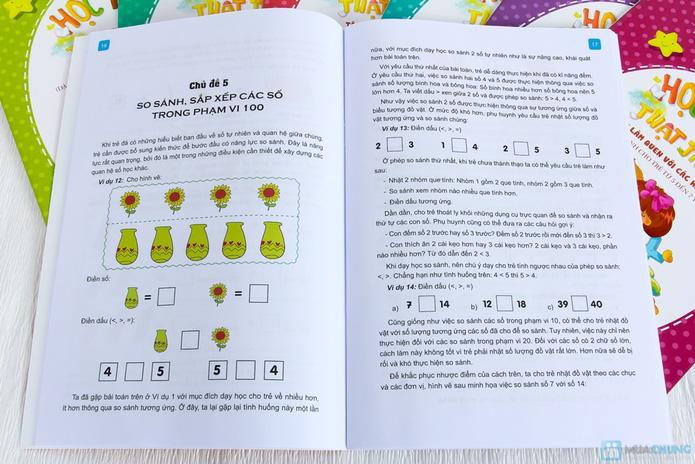 Bộ 8 Học toán thật thích dành cho bé và bố mẹ - 6