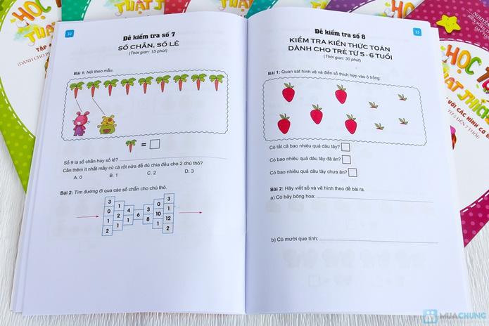 Bộ 8 Học toán thật thích dành cho bé và bố mẹ - 7