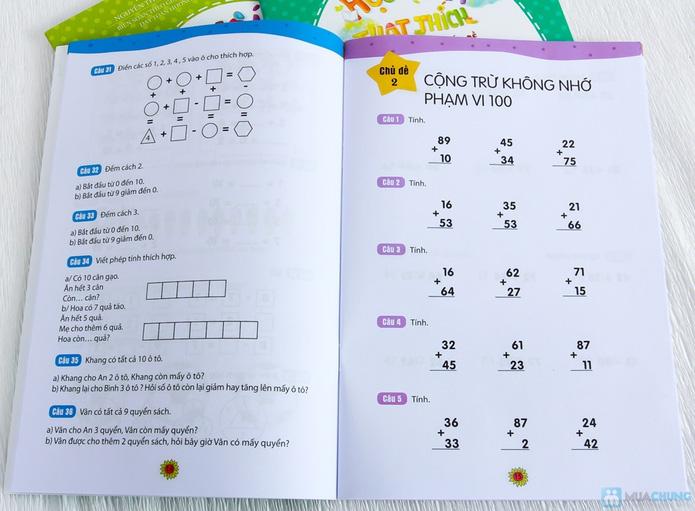 Bộ 8 Học toán thật thích dành cho bé và bố mẹ - 13