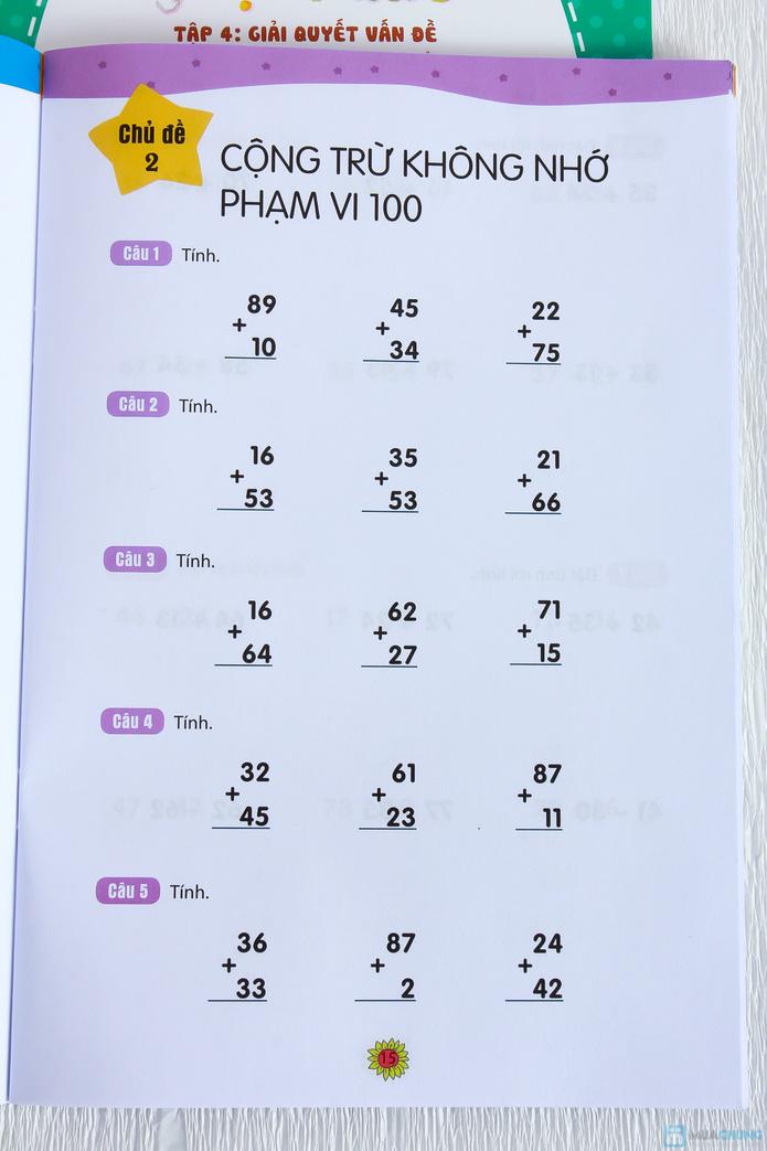 Bộ 8 Học toán thật thích dành cho bé và bố mẹ - 12