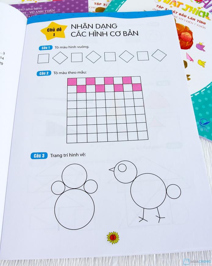 Bộ 8 Học toán thật thích dành cho bé và bố mẹ - 9