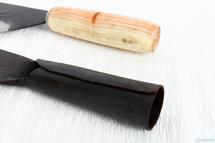Combo dao thái và dao chặt Đa Sỹ bằng thép - 4