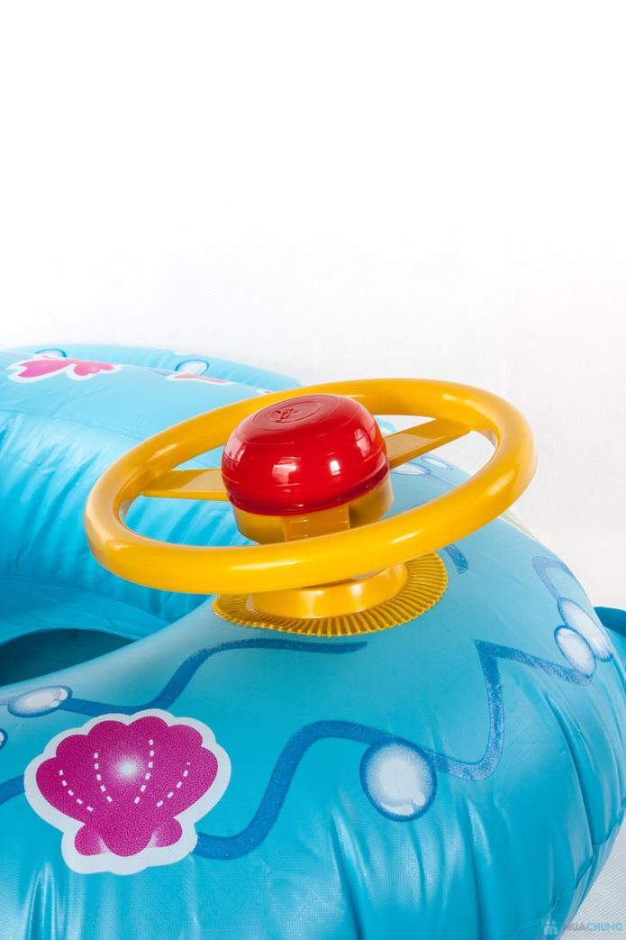 Áo phao bơi hình ô tô cho bé - 2