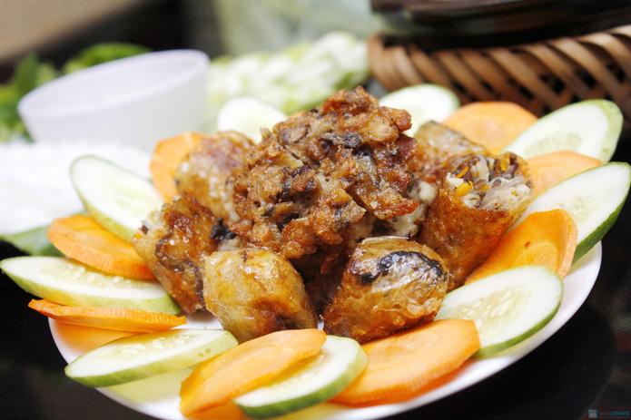 Set ăn chay thanh đạm tại Tịnh Thư Quán - 2