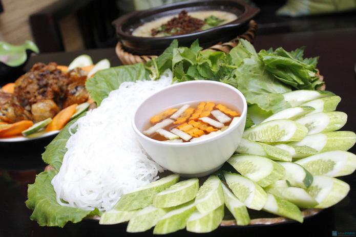 Set ăn chay thanh đạm tại Tịnh Thư Quán - 3