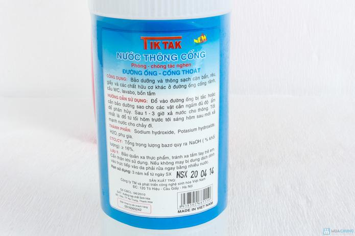 Kem tẩy đa năng Sun + Hợp chất thông cống Tiktak - 5