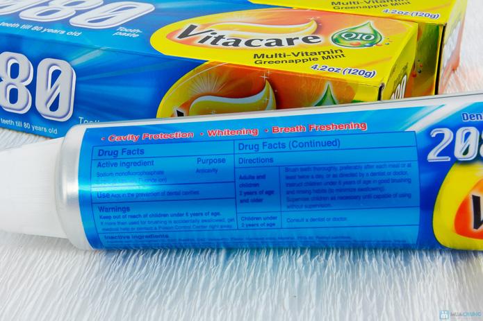 03 kem đánh răng Hàn Quốc 2080 Vitacare - 6