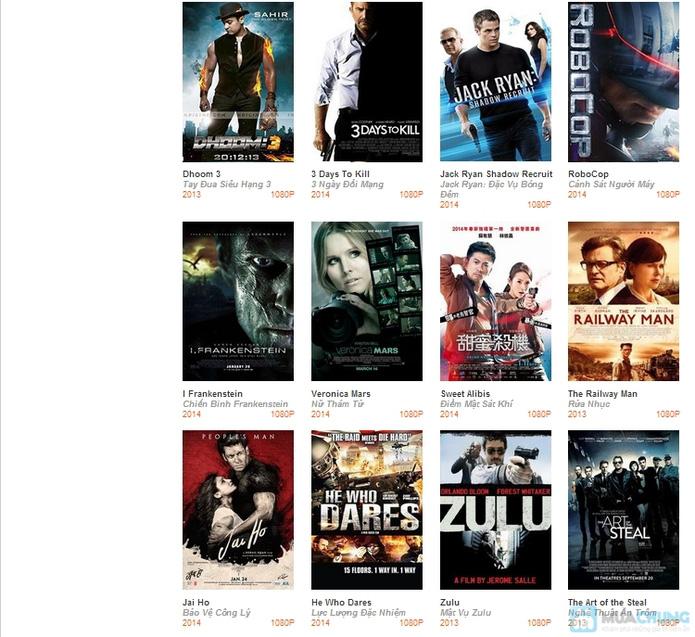 Phiếu giảm giá xem phim, thức ăn và nước uống tại 3D Cinema Coffee Pumpkin - 2