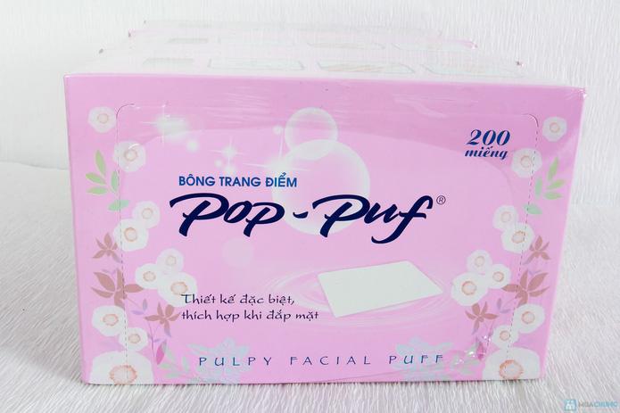 3 hộp bông tẩy trang Pop-Puf - 4