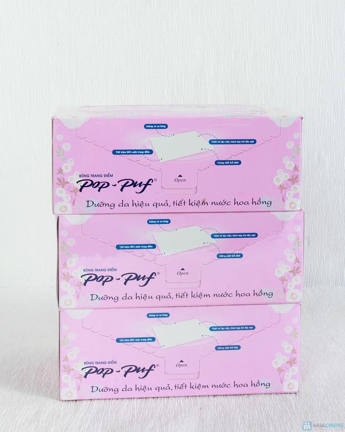 3 hộp bông tẩy trang Pop-Puf - 3