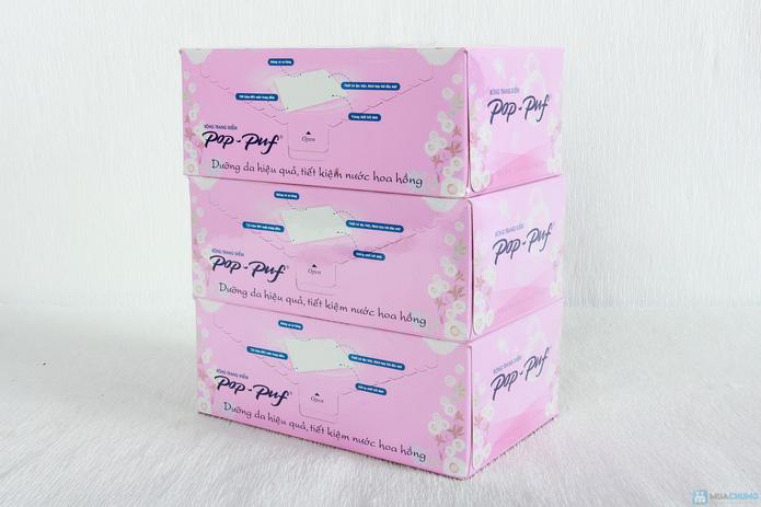 3 hộp bông tẩy trang Pop-Puf - 1