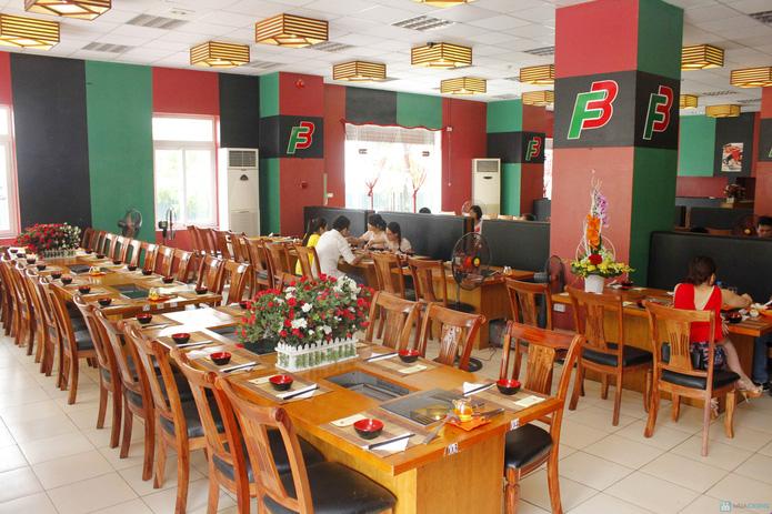 Buffet lẩu nướng thực đơn mùa hè nhà hàng F3 (59848) - 45