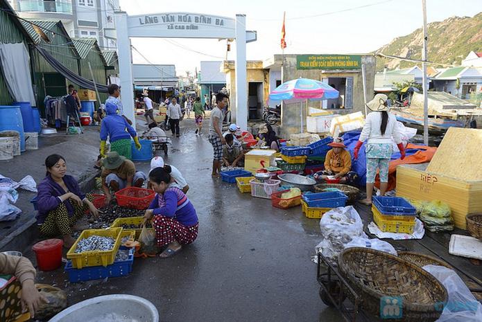 Kết quả hình ảnh cho chợ hải sản bình ba
