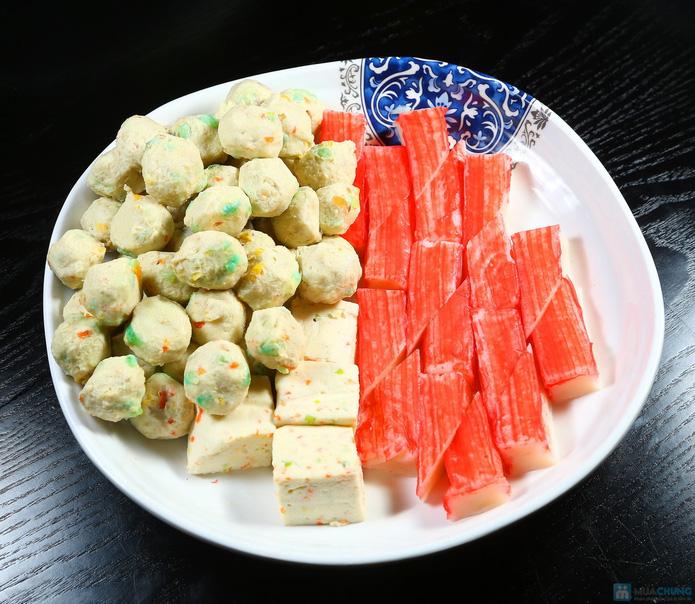 buffet Nướng lẩu thạch xanh - ẩm thực Ao Ta - 21