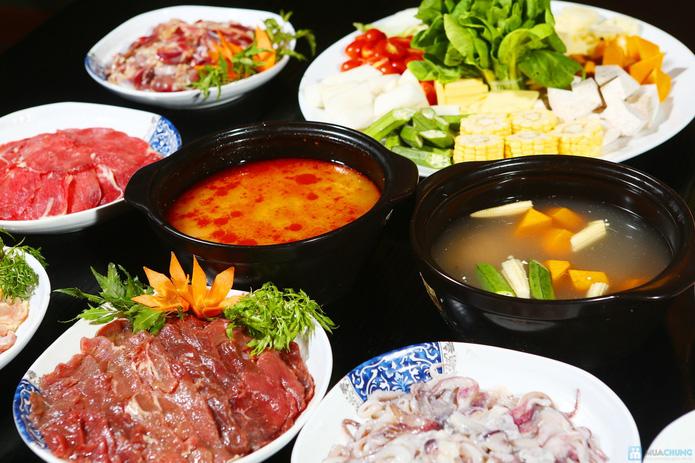buffet Nướng lẩu thạch xanh - ẩm thực Ao Ta - 17