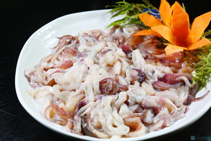 buffet Nướng lẩu thạch xanh - ẩm thực Ao Ta - 8