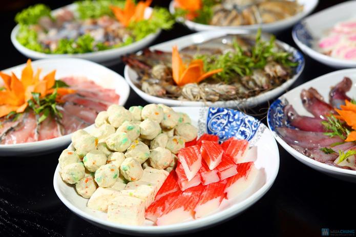 buffet Nướng lẩu thạch xanh - ẩm thực Ao Ta - 22