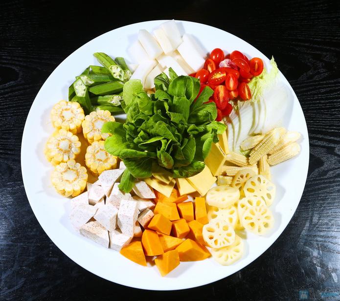 buffet Nướng lẩu thạch xanh - ẩm thực Ao Ta - 16