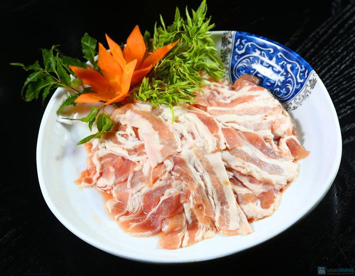 buffet Nướng lẩu thạch xanh - ẩm thực Ao Ta - 9