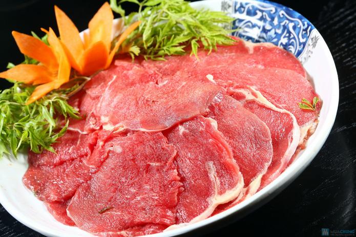 buffet Nướng lẩu thạch xanh - ẩm thực Ao Ta - 6