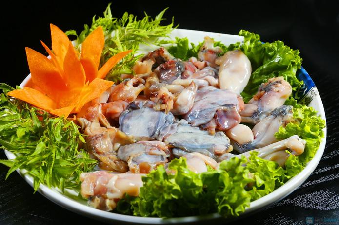 buffet Nướng lẩu thạch xanh - ẩm thực Ao Ta - 5