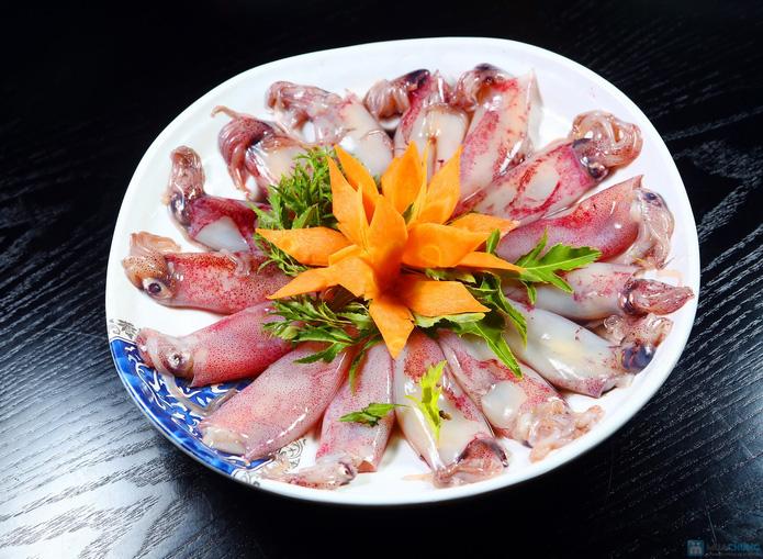 buffet Nướng lẩu thạch xanh - ẩm thực Ao Ta - 3