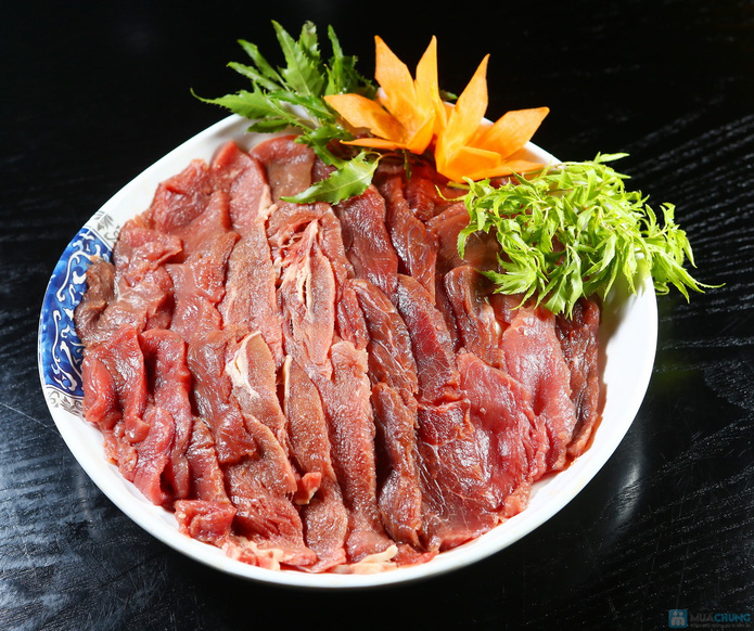 buffet Nướng lẩu thạch xanh - ẩm thực Ao Ta - 11