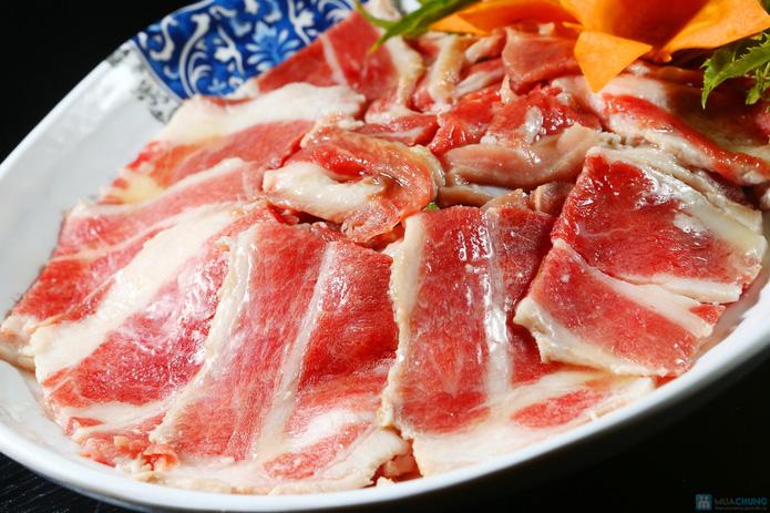 buffet Nướng lẩu thạch xanh - ẩm thực Ao Ta - 12