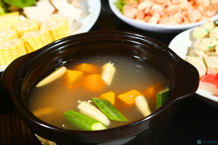 buffet Nướng lẩu thạch xanh - ẩm thực Ao Ta - 19