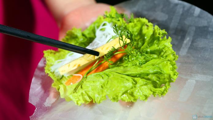 buffet Nướng lẩu thạch xanh - ẩm thực Ao Ta - 25