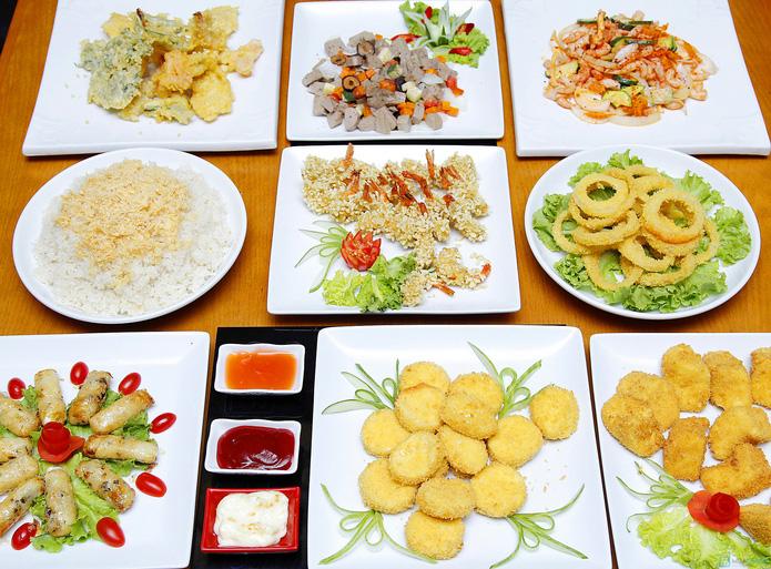Buffet lẩu nướng thực đơn mùa hè nhà hàng F3 - 1