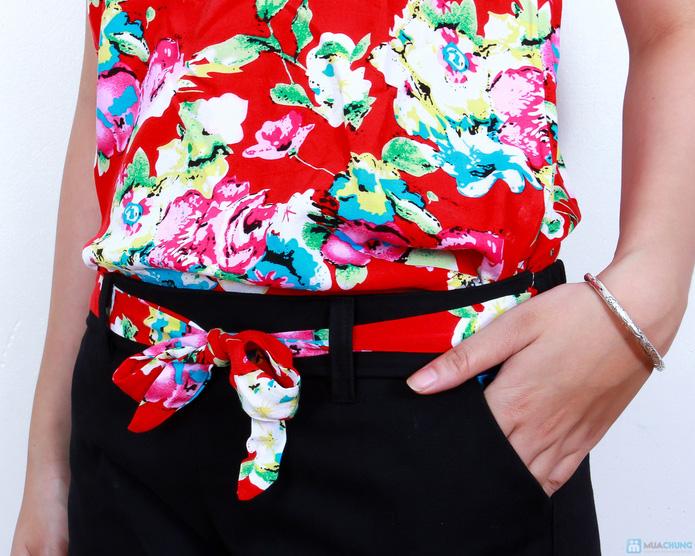02 bộ áo lanh quần short xinh xắn - 3