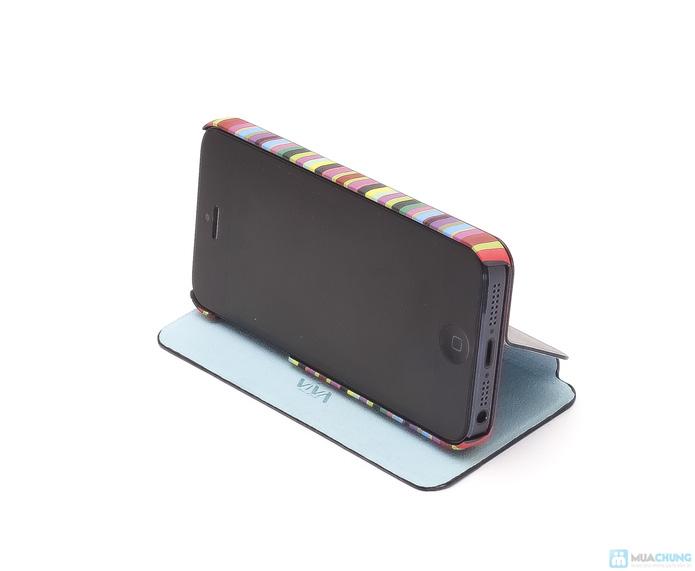 Bao da Iphone 5 VIVA nắp đạy - 6