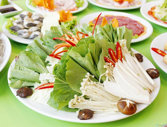 Thỏa thích ăn buffet lẩu nướng 2 trong 1 tại nhà hàng lẩu nướng Hồng Kông - 5