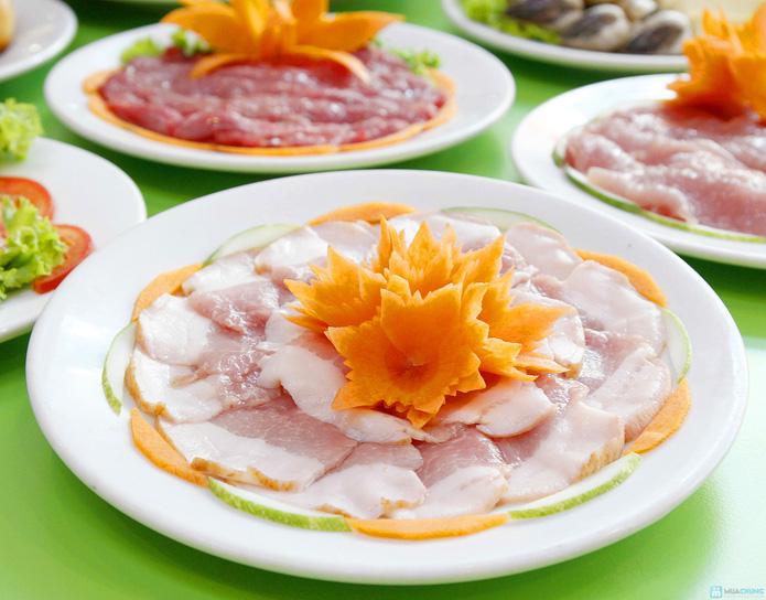 Thỏa thích ăn buffet lẩu nướng 2 trong 1 tại nhà hàng lẩu nướng Hồng Kông - 4