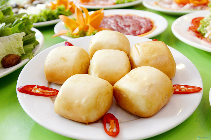 Thỏa thích ăn buffet lẩu nướng 2 trong 1 tại nhà hàng lẩu nướng Hồng Kông - 7