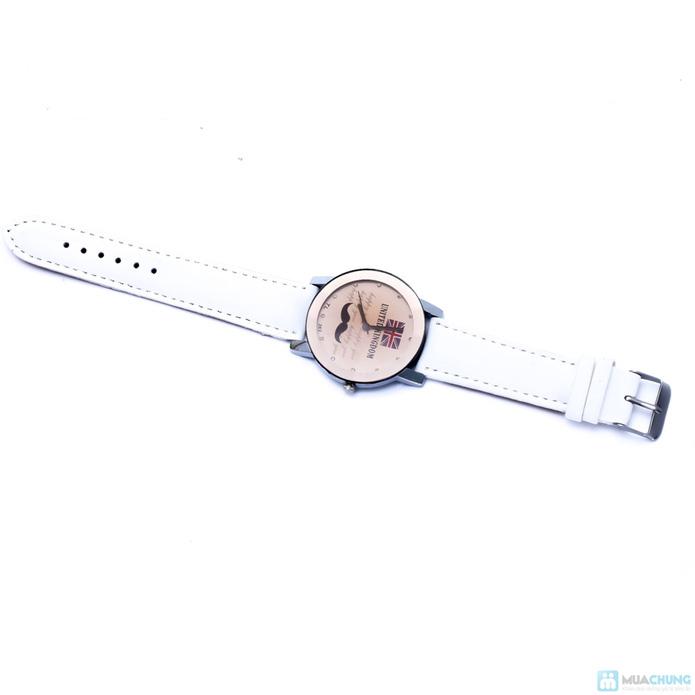 Đồng hồ hình râu cá tính - 5