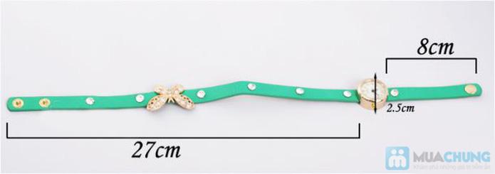 Đồng hồ kèm lắc tay hình bướm xinh xắn - 5