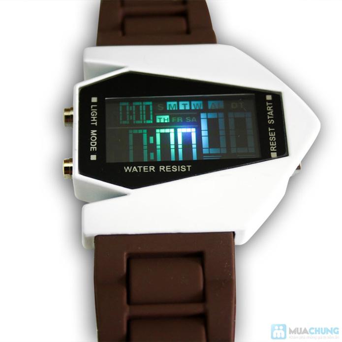 Đồng hồ nam có đèn led kiểu dáng phi thuyền - 10