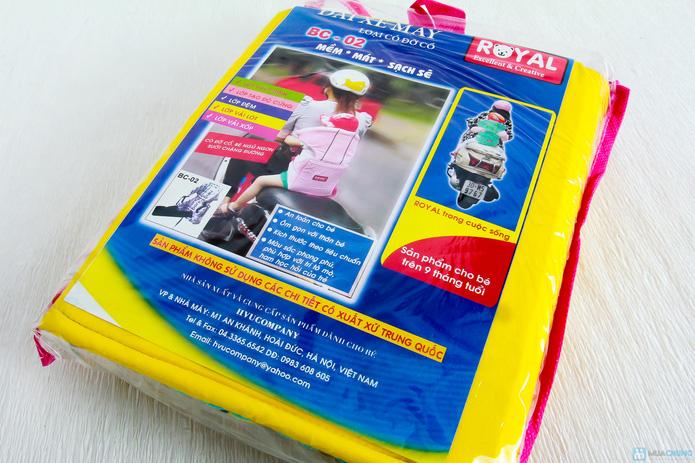 Đai xe máy trẻ em có đỡ cổ Royal BC02 - deal chạy toàn quốc - 3