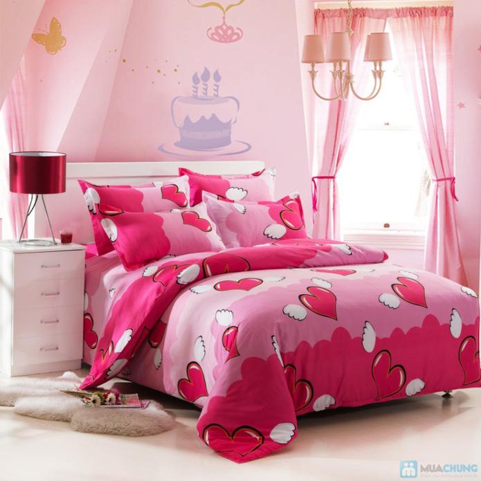 Bộ Drap giường kiểu dáng Hàn Quốc - 4